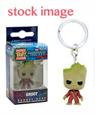 Funko Pop Keychain GROOT Guardians of the Galaxy 2 Vinyl Action Figure Key Chain