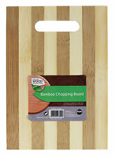 Wooden Bamboo Chopping Solid Cutting Food Slicing Dicing Board 25X16X0.5CM