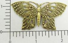 35213            Brass Oxidized Victorian Butterfly Jewelry Finding