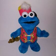"Sesame Street Trumpet Playing Cookie Monster 16"" Fisher Price TESTED & WORKS"