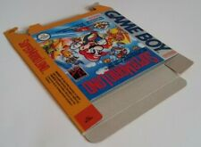 Super mario Land  - box reproduction only - GB - NTSC OR PAL - thick cardboard.