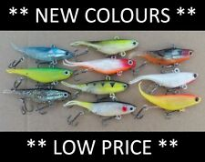*CLEARANCE* 10 Vibe Soft Plastics Fishing Lures 90mm Mullet Barra FREE SHIPPING