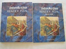 McDougal Grade 10 The InterActive Reader Plus Student Workbook + Teacher's Guide