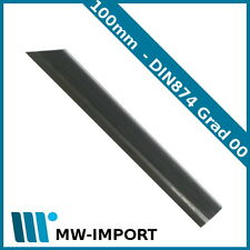Haarlineal brüniert 100 mm DIN 874 Grade 00
