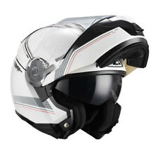 Nzi - casco modular combi duo Graphics online blanco L