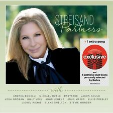 Barbra Streisand - Partners (Deluxe Edition) - Target Exclusive NEW SEALED,.