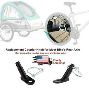Cycling Bicycle Bike Trailer Hitch Coupler Set Traction Replace Accessories R7D5
