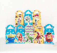 8x TOY STORY PARTY FAVOUR LOLLY BOX THEMED BIRTHDAY BAGS SUPPLIES DECORATIONS