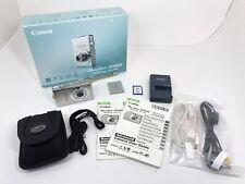 Canon PowerShot Digital ELPH SD600 IXUS 60 6.0MP Digital Camera Tested Works