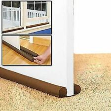 TWIN DRAFT DRAUGHT GUARD EXCLUDER DOOR & WINDOW HEAT INSULATOR ENERGY SAVING