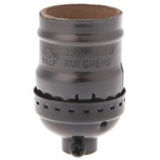 E26/E27 Aluminum Retro Vintage Light Bulb Lamp Holder Socket Base Without Switch