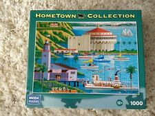 "Mega Puzzles 1000-piece ""Catalina"" jigsaw puzzle - COMPLETE -Hometown Collection"