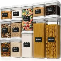 Shazo Airtight Container Set for Food Storage - 12 PC Set BPA Free  Airtight $99