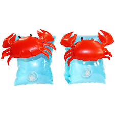 Inflatable Crab Armbands in Blue/Red