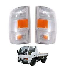 For 1999-06 Isuzu Npr Nkr Nqr 450 Truck Chevrolet Corner Lamp White Pair LR