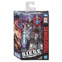 Transformers War for Cybertron SKYTREAD Siege Deluxe Class G1 MIB