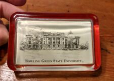Bowling Green State University Glass Paperweight