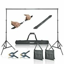 Emart Photo Video Studio Backdrop Support System Kit with Carry Bag