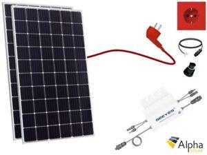 630W Solaranlage Jinko Solar Mono Balkonkraftwerk PV Hausanlage EVT-560 WR