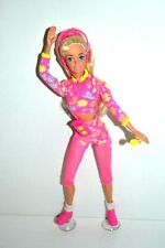 Workin Out Barbie Doll, 1990's, Original Accessories, VGC, Gift wrapped