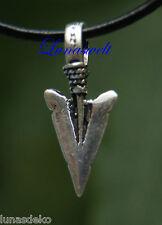 Anhänger Viking Wikinger Pfeilspitze, Replikat aus der Wikingerzeit Silber