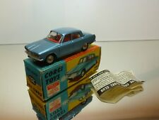 CORGI TOYS 252 ROVER 2000 - BLUE METALLIC 1:43 - EXCELLENT IN BOX