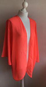 H&M ladies neon orange bikini cover-up size M Medium