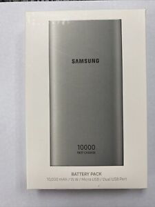 Samsung Power Bank 10,000 mAh Fast Charging ⚡ Brand New Portable Battery Pack 🔋