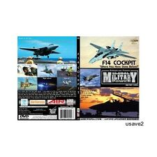 "Airutopia F-14 F14 TOMCAT Cockpit-US Navy Military DVD Video-""Desert Storm"""