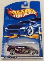 2001 Hotwheels Lamborghini Diablo Purple Vintage Mint! MOC! Very Rare!