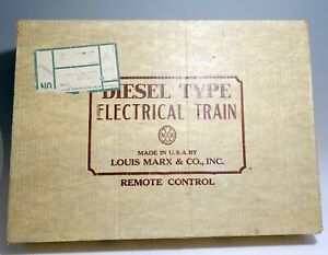 Marx Electric NYC Freight Boxed Set 7985