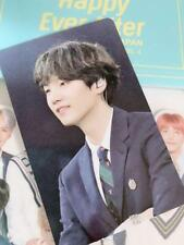 BTS SUGA Happy Ever After 4th Fan Meeting Official photocard DVD ver. JPN photo