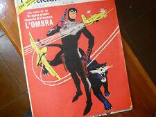 corriere dei piccoli anni origin.'60 copertina disegnata da Hugo Pratt l'ombra 2