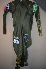 SPYDER US SKI TEAM Womens S/M Ski Racing Downhill Suit Mikaela Shiffrin Custom