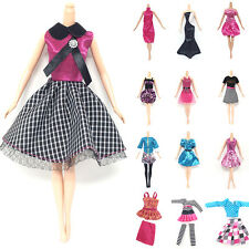 10Pcs Handmade Dresses Clothes For Doll Style Cute Gift Random Hot