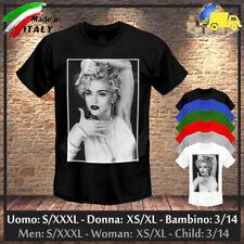 """T-shirt """"MADONNA"""" Vogue Tribute Vintage Retro 90s Pop Dance Ciccone, Collez 2020"""