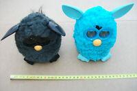2x Furby Hasbro 2012 Türkis Schwarz aus Sammlung sehr schön schön selten 2 Stück
