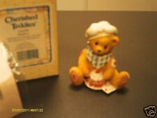 Cherished Teddies _ Matthew the Chef - A dash of love sweetens any day 1995