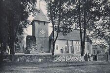 10271 AK Chiesa in stanchi comunale Faßberg lündeburger Heide 24.7.1935 PC Curch