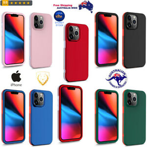 360 Degrees Full Coverage Protective PC + TPU Shockproof Case For iPhone Sydney$