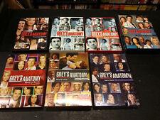 Grey's Anatomy lotto 7 cofanetti stagioni 1-6 usato come nuovo
