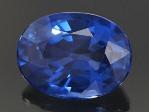NATURAL MINE - OVAL RICH BLUE CEYLON SAPPHIRE 1.49 CT.
