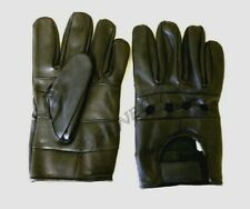 Men's Lambskin Leather Driving Gloves Motorcycle Biker Style Unlined Gloves New