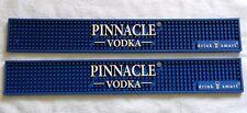 2  000015E2 Euc Pinnacle Vodka Rubber Bar Mats Blue