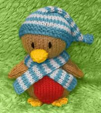 KNITTING PATTERN - Robbie Robin chocolate orange cover / 14 cms Christmas toy
