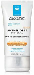 La Roche-Posay Anthelios 50 Mineral Daily Primer Tinted 1.35 oz Exp. 11/2021