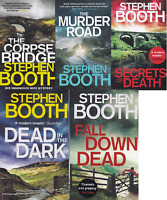 Stephen Booth Books x 5 - Cooper and Fry 14-18 Paperback Corpse Bridge +