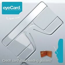 eyeCard universal readers compact reading glasses wearable magnifying glass NEW