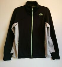 Ladies The North Face Flashdry Track Jacket Size Large L UK 14 Soft Shell Sports