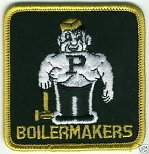 "PURDUE BOILERMAKERS NCAA COLLEGE VINTAGE 3"" TEAM PATCH"